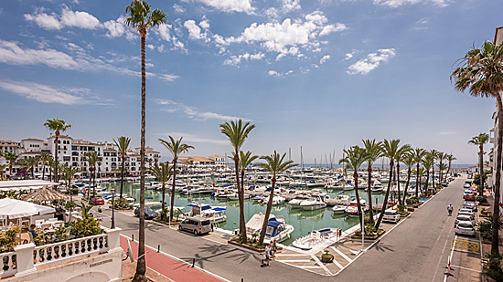 La Duquesa, golf, marina, port